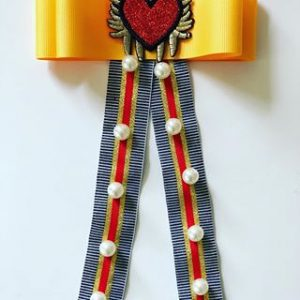 Yellow Bow / Red Heart
